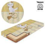Детский матрас Беби-Текс кокос-поролон Кошки
