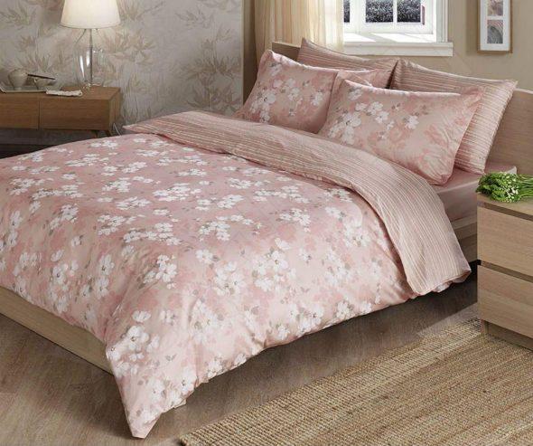 Спокойная расцветка постельного белья