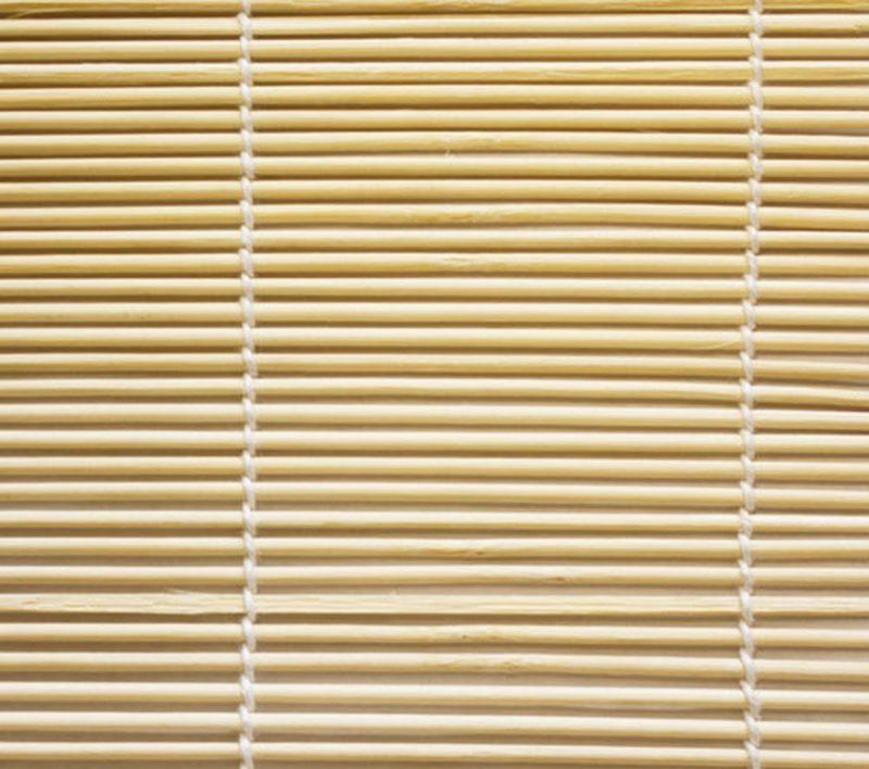 Полотно недорогой бамбуковой шторы Эскар