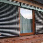Солнцезащитные рафшторы на панорамных окнах