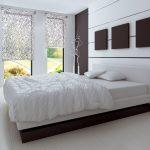 Серый цвет в дизайне спальни