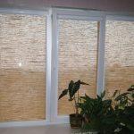 Кассетные шторы из натуральной ткани