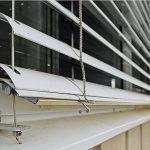 Солнцезащитная рафштора с ламелями с-образной формы