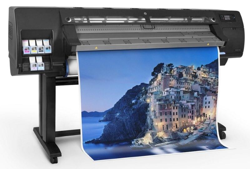 Печать латексного изображения на полотне рулонной шторы