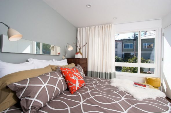 Модели штор для спальни