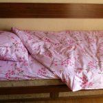 Односпальный комплект с сакурой
