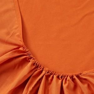 Оранжевая простынь