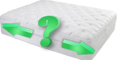 Измеряем спальное место кровати