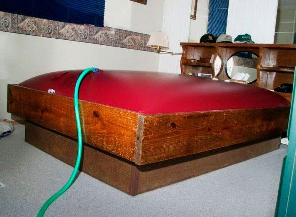 Подогрев водных кроватей