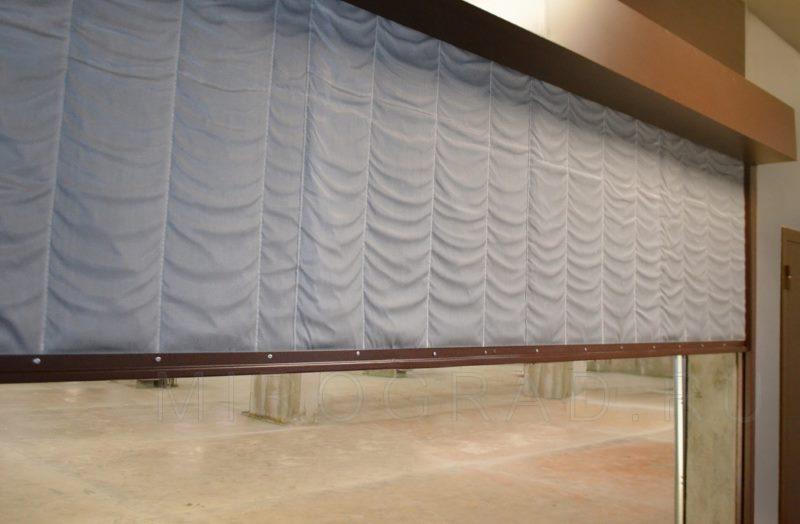Стекловолоконное полотно противопожарной рулонной шторы