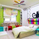 Декорирование изголовья детской кровати своими руками