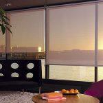 Полупрозрачное полотно рулонной шторы