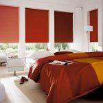 Бардовые оттенки в интерьере спальной комнаты