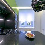 Дизайн узкой кухни в панельном доме