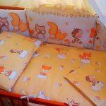 Самодельный постельный комплект для новорожденного