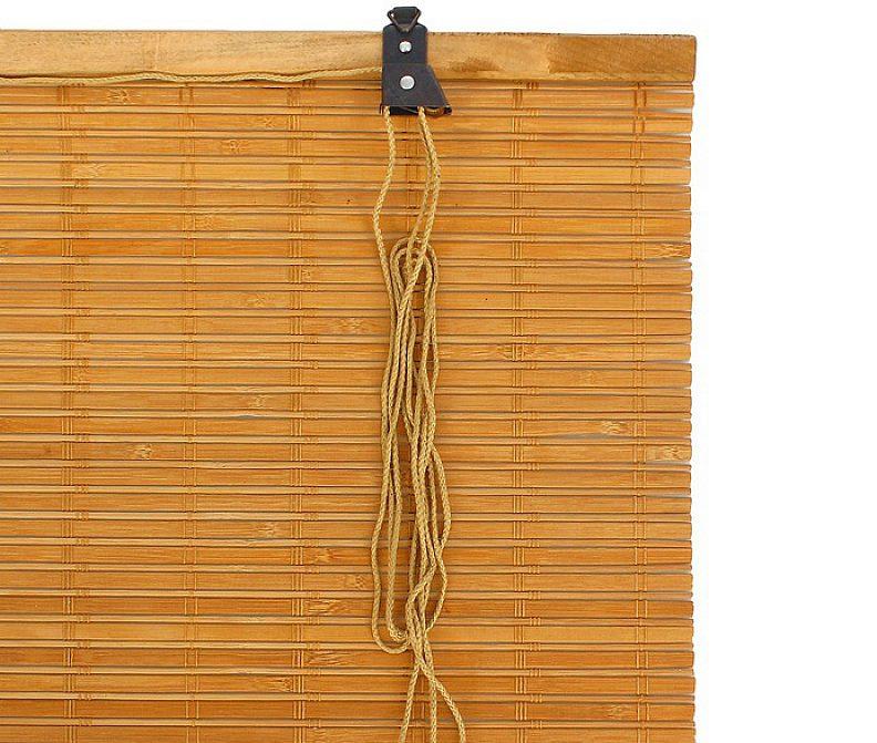 Фото бамбуковой шторы компании Кабуки
