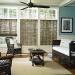 Плетенная мебель в интерьере гостиной