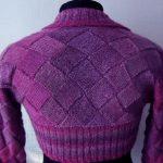 Вязанный свитер энтрилак