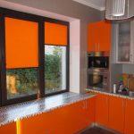Цветовая гамма рольштор в тон кухонного гарнитура