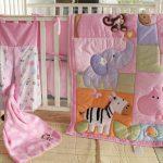 """Детское одеяло """"Розовый зоопарк"""""""