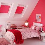 Розовый цвет в интерьере детской для девочки