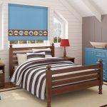 Детская комната для мальчика в мансарде частного дома