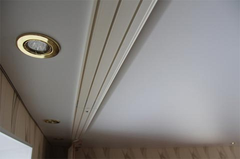 Гардина для натяжного потолка
