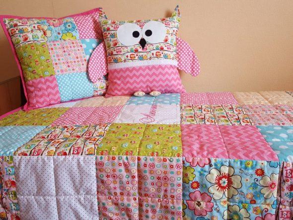 Именное детское одеяло