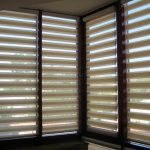 Кассетные шторы на угловые окна