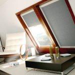 Серые шторы из плотного материала