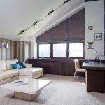 Оформление окна с помощью штор плиссе
