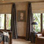 Настенные римские шторы для спальни