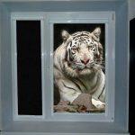 Необычные рольшторы с рисунком тигра