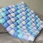 Одеяло для мальчика в технике бонбон