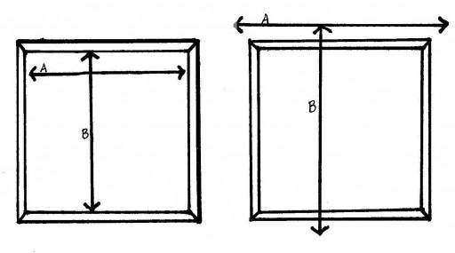 Определяем размеры шторы