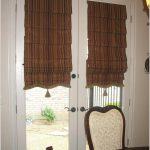 Полосатые римские шторы с кисточками