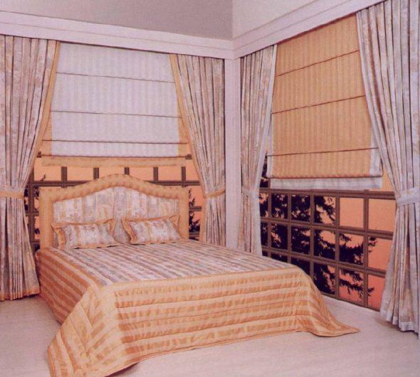 Римские тканевые шторы