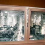 """Роликовые шторы с фото-рисунком """"Город"""""""