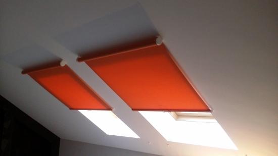 Рулонные шторы для мансарды