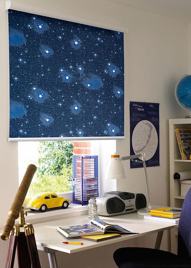 Телескоп в интерьере детской комнаты
