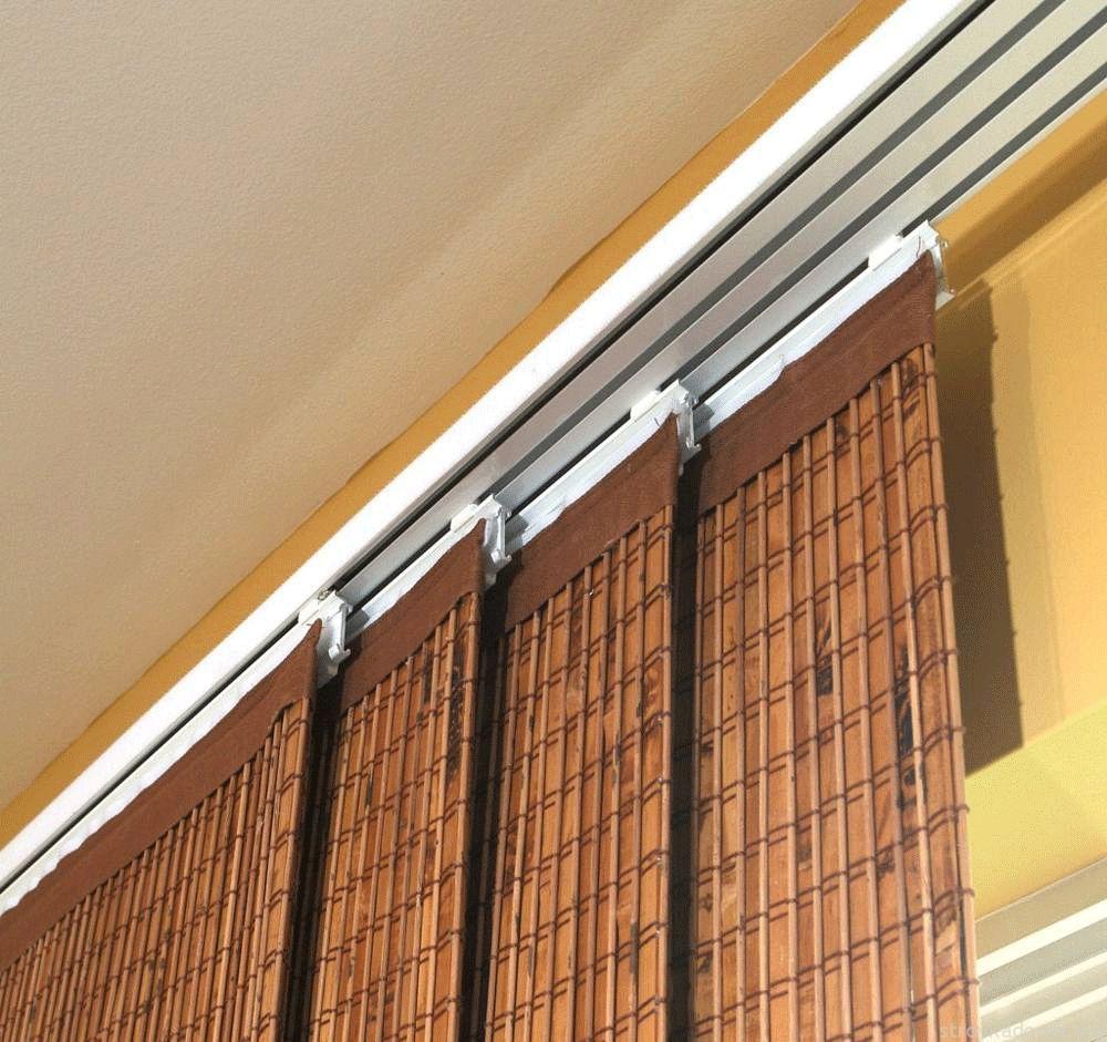 Раздвижные бамбуковые шторы для балкона или лоджии