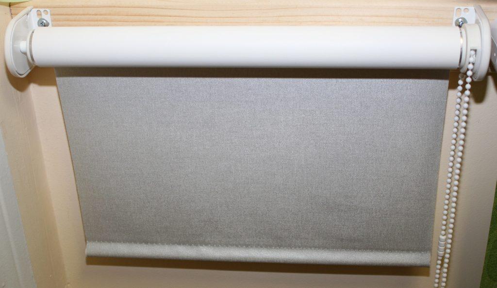 Рулонная штора Люкс на стальных кронштейнах