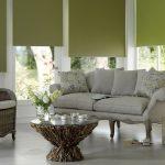Шторы блэкаут приятного оливкового цвета