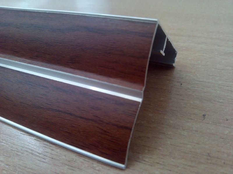 Двухрядный алюминиевый карниз для штор