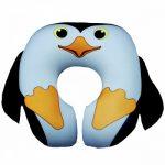 """Антистрессовая подушка в форме подковы """"Пингвин"""""""