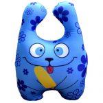 Антистрессовая подушка-зверюшка подойдет даже людям с аллергией