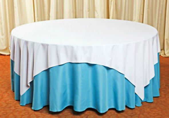 Скатерть по форме стола