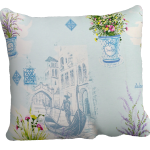 Декоративная подушка в стиле Прованс с красивым принтом