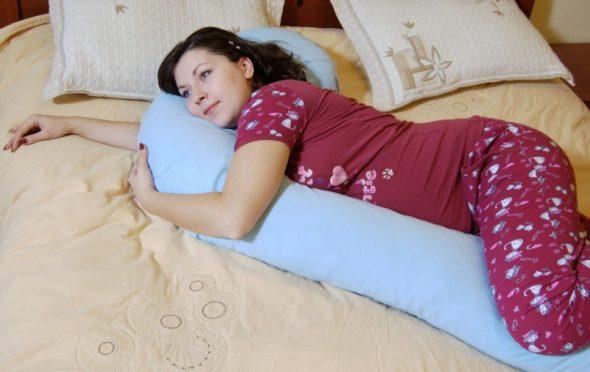 Эффективность подушки для беременных