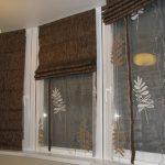 Разные режимы работы двойных римских штор